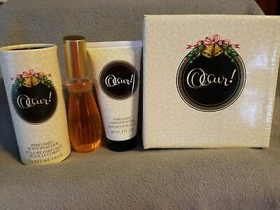 Avon Occur Vintage Gift Set Power,cologne And Skin Softener