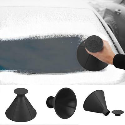 Removable Cone Shaped Scrape Windshield Ice Scraper Funnel Ice Snow Remover Tool