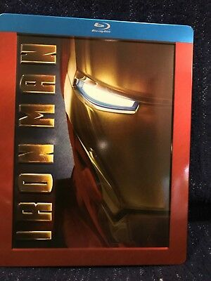 Iron Man Blu-ray Steelbook Future Shop Exclusive Marvel Rare Out of Print!
