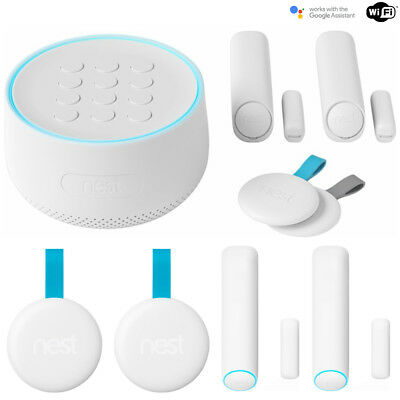 Nest Secure Alarm System Starter Pack w/ 2x Detect Sensor and 2x Tag
