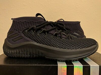 sports shoes 028fc 04812 Adidas Dame 4 Dame Time Basketball Core Black Damian Lillard (BW1518) size  12