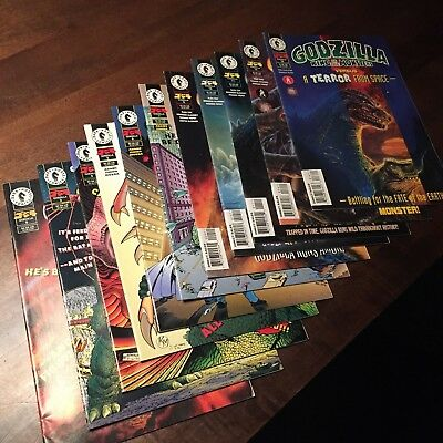 Dark Horse Comics – Lot of 12 GODZILLA King of the MONSTERS 1995