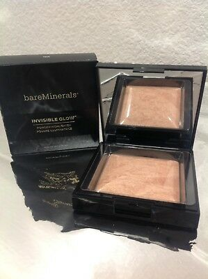 bareMinerals Invisible Glow Powder Highlighter ~TAN~ 0.24 oz ~New In Box~