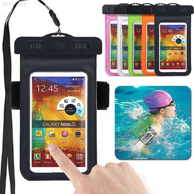 3F8F Waterproof Underwater Case Cover Armband For 4.8-6'' Cell Phone Diving