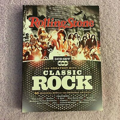 Rolling Stone Presents: Greatest Hits of Classic Rock (CD, 3 Disc Set)