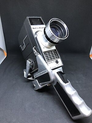 Bell And Howell Model 310F 8mm Movie Camera W/ Zoom Electric Eye