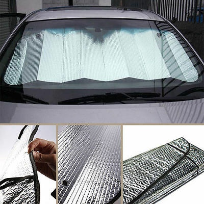 Car Front Rigid Windscreen Sunshade Sun Shade Windshield Visor UV Block Cover