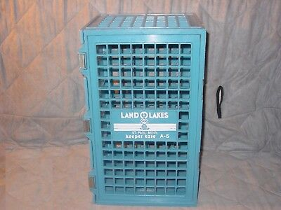 Vintage Land O Lakes Dairy Crate Box Container Keeper Kase A-5 St. Paul, Minn.