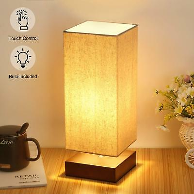 Touch Control Table Lamp Bedside 3Way Dimmable Touch Desk Lamp Modern Nightstand