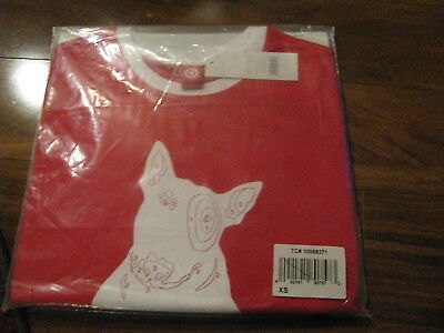 Target Bullseye Dog Color by Number T-Shirt MISP XS Extra Small