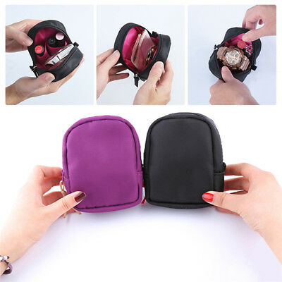 Travel Makeup Cosmetic Toiletry Case Organizer Pouch Mini Wallet Coin Purse Bag