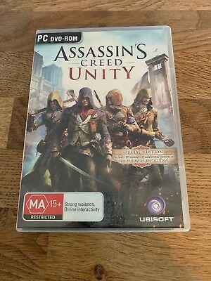 PC game Assassins Creed Unity