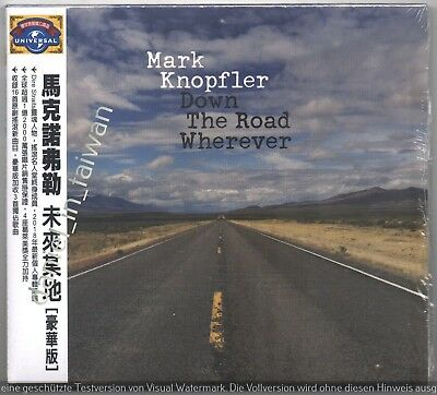 Mark Knopfler: Down the road wherever - Deluxe (2018) TAIWAN OBI CD SEALED