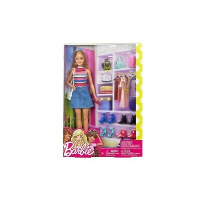 MATTEL Barbie Doll and Shoes