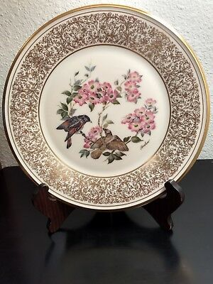 Lenox Boehm Bird Plate 1975 American Redstart - Excellent Condition