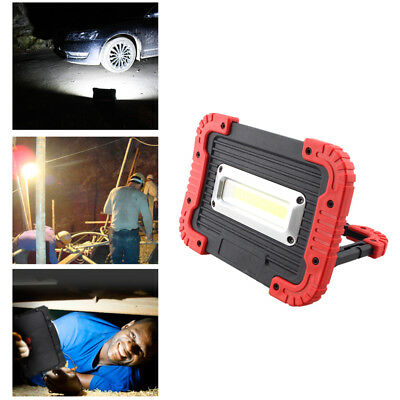 USB Rechargeable 30W COB LED Flood Light Outdoor Emergency Work Lamp Torch 2mode