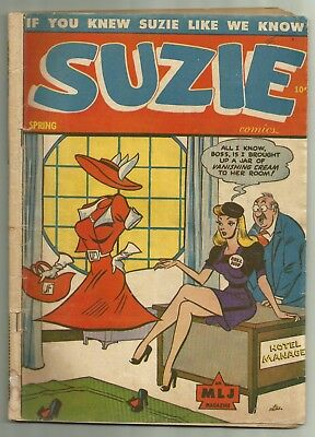 Suzie Comics #49 1945 MLJ Al Fagaly Cover GGA First Issue!