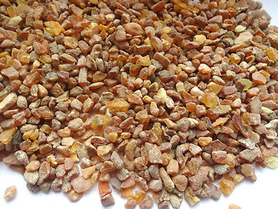 NATURAL RAW  BALTIC AMBER BEADS (5 - 14 mm )200gr. stones are not drilled