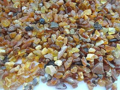 NATURAL RAW  BALTIC AMBER BEADS (6 - 15 mm )200gr. stones are not drilled