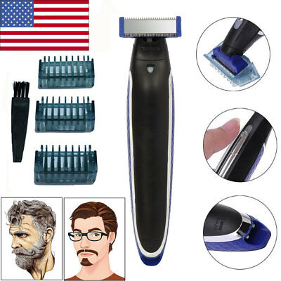 2019 Hot Rechargeable Men's Electric Shaver Hair Trimmer Valentine Gift For Boy