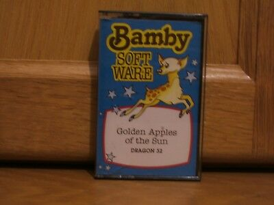 Vintage Dragon 32 Game Golden Apples of the Sun by Bamby Software