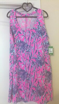 e9cef25f3bd664 NWT Lilly Pulitzer Raylee Shift Dress Mandevilla Pink Extra Lucky Size XL