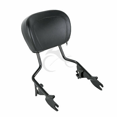 Sissy Bar Schienale rimovibile per Harley Touring Street Glide Road King 09-18