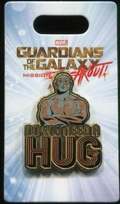 Guardians of the Galaxy Drax Do You Need a Hug? Disney Pin