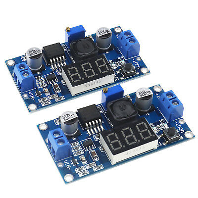 DC/DC Buck Converter Step Down Module DC 4~40 To 1.25-37V With LED Display
