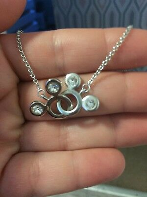 sterling silver disney necklace