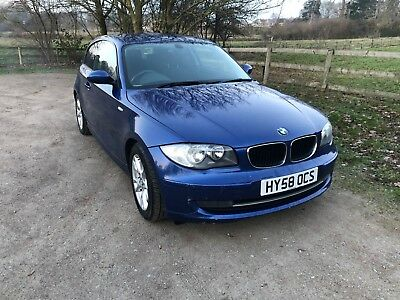 Bmw 118D Se 2008 Blue Spares Or Repair