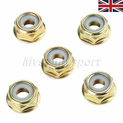 5pcs Lawnmowers Brush Cutter Blade Nuts M10*1.25 String Trimmer Gear Parts UK