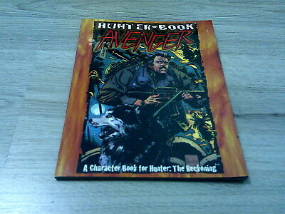 Hunter The Reckoning Avenger Sourcebook 2000 White Wolf WW8103 VG