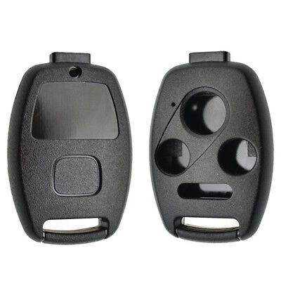 Car Remote Key Case Fob Shell For Honda Accord Civic CR-V 4 Button No Blade