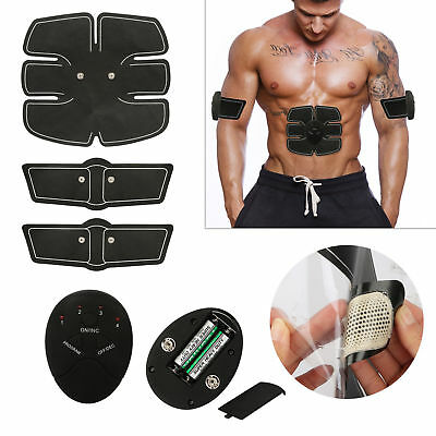 Training Smart Abs Fitness Gear Muscle Abdominal Toning Belt Trainer Stimulator