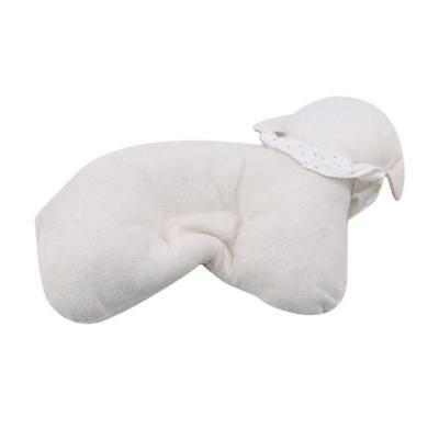 Sheep Shaped Infant Pillow Prevent Flat Head Baby Newborn Soft Support FI
