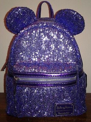New Disney Parks Loungefly Potion Purple Mini Backpack