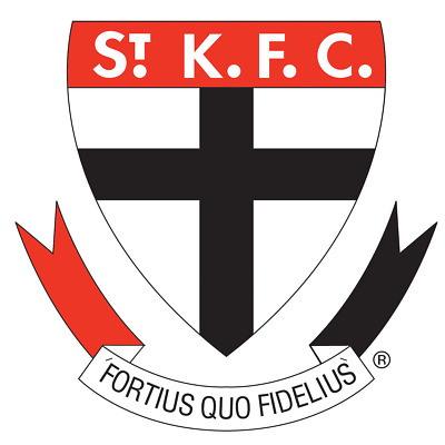 St Kilda Saints AFL ball cap christmas