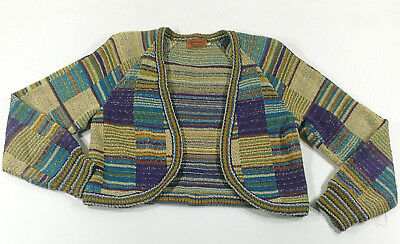 Missoni Cardigan Giacchetta Donna Woman Jacket Sweater Vintage Made In Italy