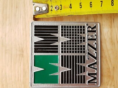Mazzer Grinder Plaque badge