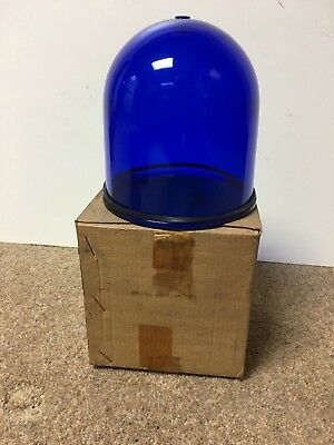 Nos Vintage Lucas Model Bl3 Type L678 Blue Acorn Beacon