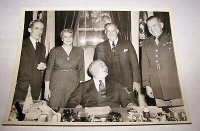 Press Wire Photo President FDR Franklin D. Roosevelt at White House