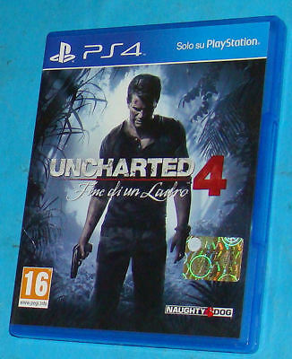 Uncharted 4 - Fine di un Ladro - Sony Playstation 4 PS4 - PAL