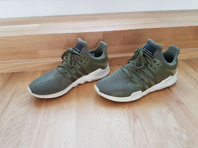 Adidas Originals EQT equipment ADV green olive grün Sneaker Schuhe 44, US 10