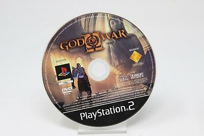 GOD OF WAR SOLO CD SONY PS2 PLAY STATION PS 2 inv-1960