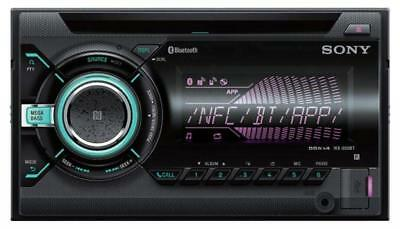 Sony WX-900BT - Doppel-DIN CD/MP3-Autoradio Bluetooth USB iPod AUX-IN - WX 900BT