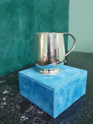 Bicchierino Battesimo Tiffany Argento Sterling - Baby Cup