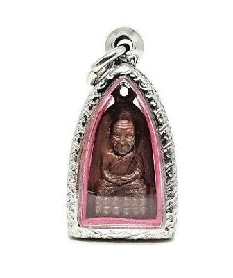 Phra LP Tuad Thao Wessuwan Luck Rich Wealth Protection Thai Buddha Amulet