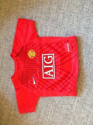Nike Manchester United Top 6-9 Months