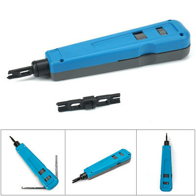 Impact punch down tool 110 / 66 blade network wire cable cat5e cat6 RJ45 From AU
